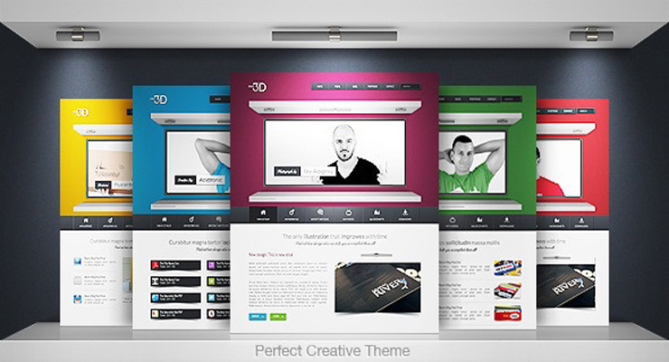 Bright Colours Can Enhance A Web Design