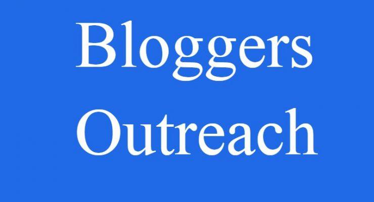 Get Blogger Outreach